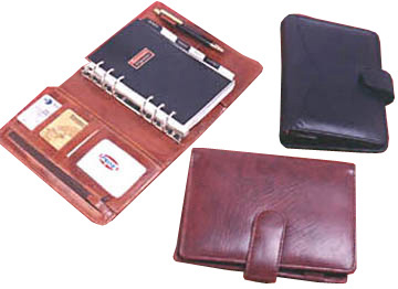 LEATHER ORGANISERS