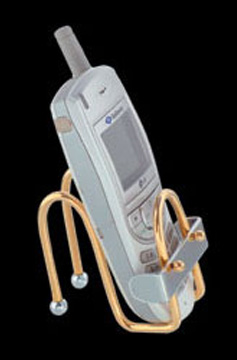 Brass Gold Wire mobile stand