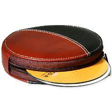 Leather CD Storage Bags