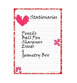 Stationery Material