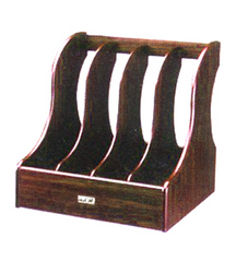 Wooden Magzine Rack