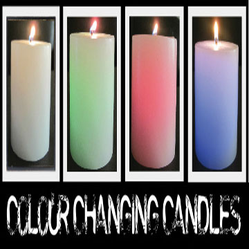COLOR CHANGING CANDLES