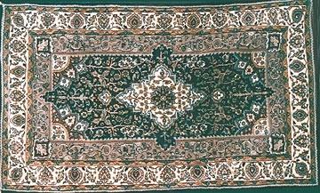 Shaded Silk Carpets