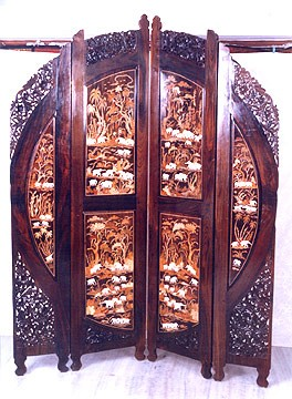 Carved Partitions