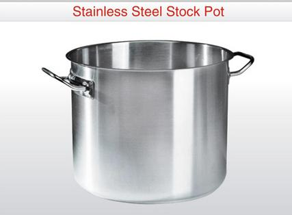 Stainless Steel Bowls and Pots