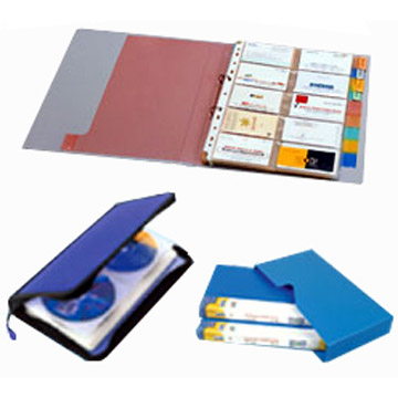 Business Card Holders & CD Cases