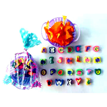 MINI ALPHABET A TO Z Erasers