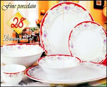 Porcelain dinner sets