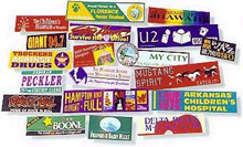 bumper stickers, custom bumper stickers, custom made stickers, custom printed stickers, stickers, manufacturers, suppliers, exporters, indian